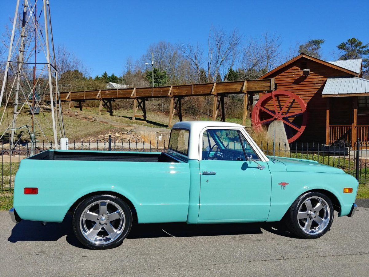 Catoc Trucks 1968 Chevy C10 Pickup Truck Only 30900 Usd Plus Shipping Please E Mail Info For Details About This Car