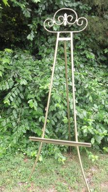 "Gold vintage easel 59"" tall for rent at Rent Your Event, LLC."
