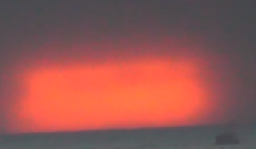 video showing ufo fleet at sea