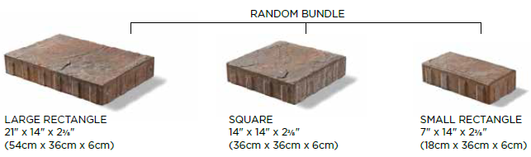 Beacon Hill Flagstone Paver pecifications and Sizes