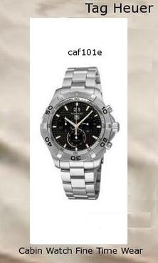 TAG Heuer Men's CAF101E.BA0821 Aquaracer Black Dial Watch,tag heuer