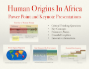 Human Origins In Africa PowerPoint