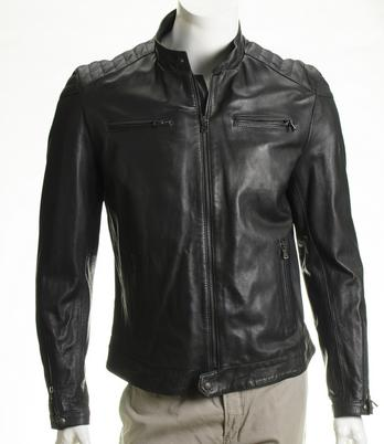 The Añel Leather Jackets, are inspired by vintage biker styles. Crafted of 100% Italian lightweight lambskin. A comfortable fit is the key concept behind the Añel Leather Jacket Collection for men.
