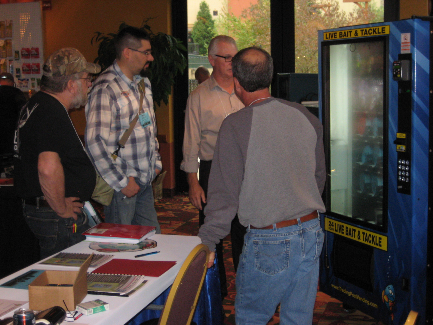 Live Bait and Tackle Vending Machines - After Hours Live