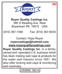 Royer Quality Castings, Well Caps