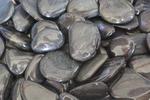 Black Polished Beach Pebble River Rocks