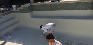 Our swimming pool contractor building a pool in Sarasota, FL