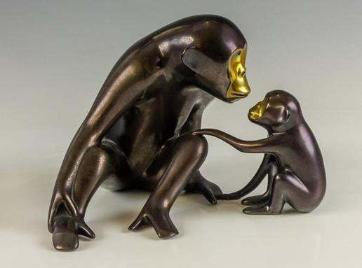 Loet Vanderveen Chimp and Baby