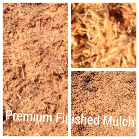finished premium hardwood mulch