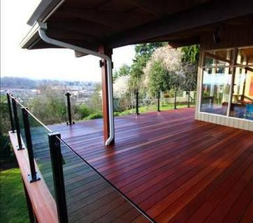 red balau batu mahogany hardwood decking