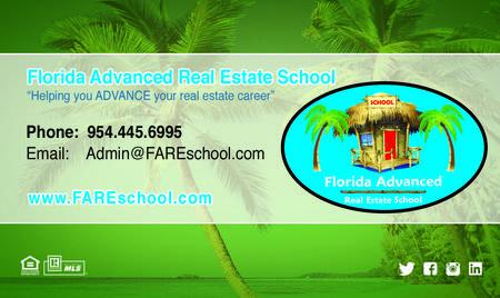 Real Estate Broker License - Florida Advanced Real Estate School