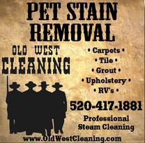 Real Estate Press, Southern Arizona, Old West Cleaning