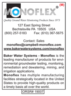 Environmental Products, Monoflex, Baker