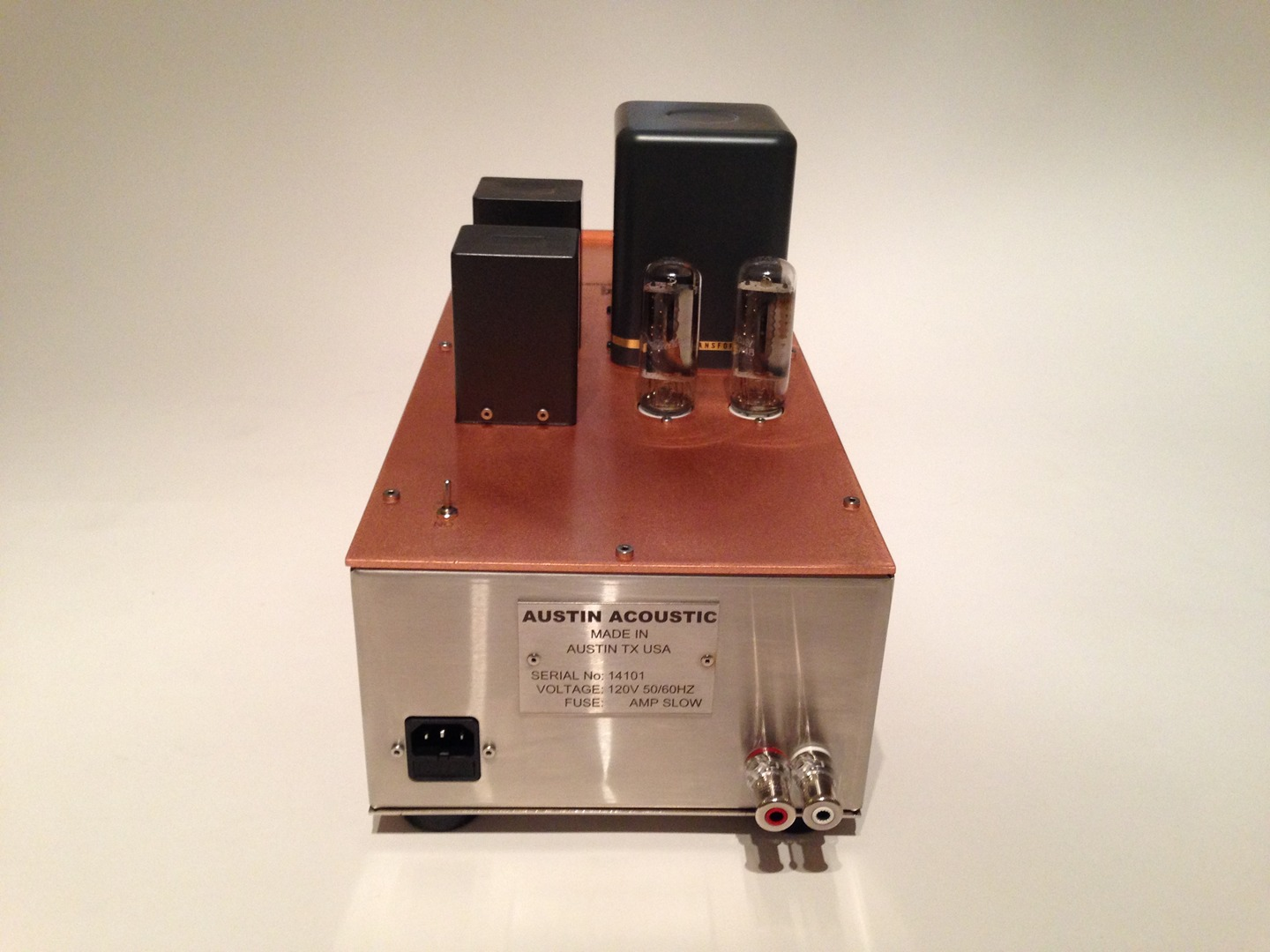 M 45 Set Amplifiers With Tango And Tamura Transformers Tube Monoblock