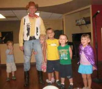 Hire Woody The Cowboy, Toy Story Style Party Character