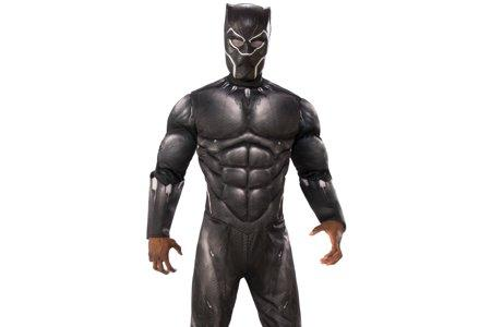 Black Panther Superhero, Marvel Comic Book style Party Character