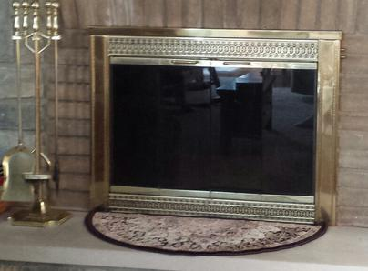 Picture of Fireplace glass