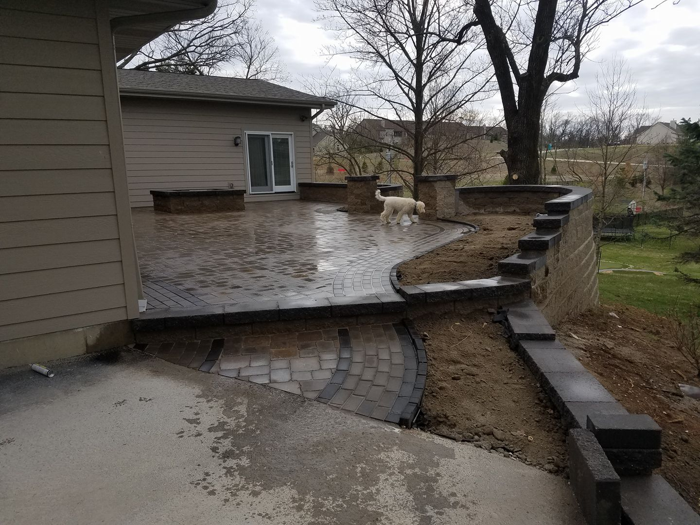 Retaining Wall Installation in St Louis MO