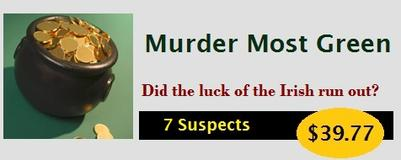 How to Host a St. Patrick's Day Murder Mystery Party Kit