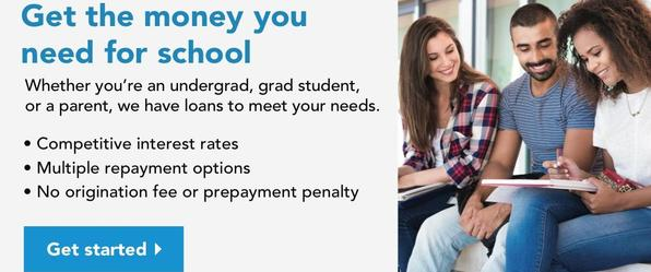 Photo of 3 adults for Link to The Smart Option Student Loan by Sallie Mae for RCCU Members