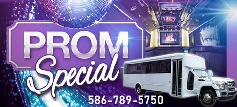 Homecoming prom Limousine Rental