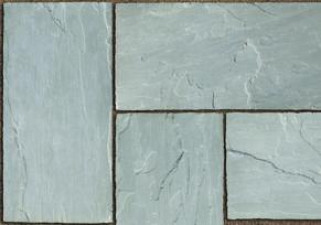 Unilock Stone Cliff Grey Sandstone Paver Swatch