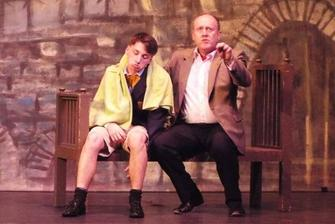 Lawrence Jameson (Mark Cooper) and Freddie Benson (Joe Whittington)