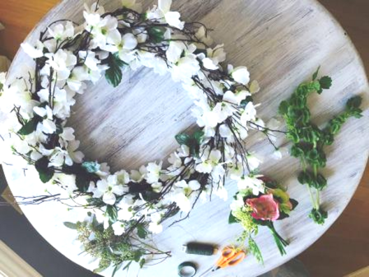 Styled-it floral wreath workshop