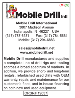 Drilling Tools, Mobile Drill