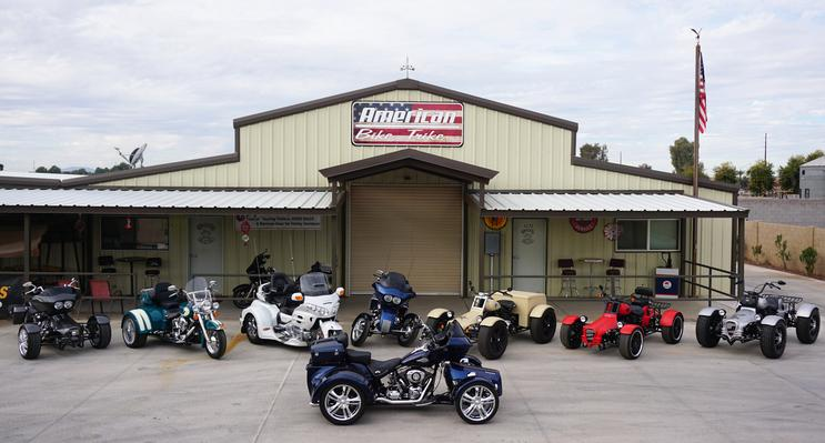 American Bike And Trike - Motorcycle Conversions, Trikes