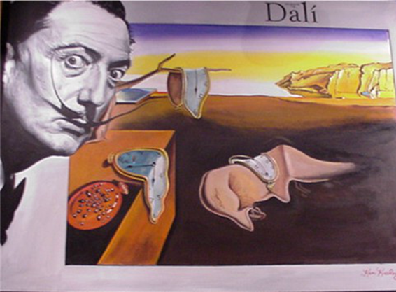 Ken Keeley Homage to Dali
