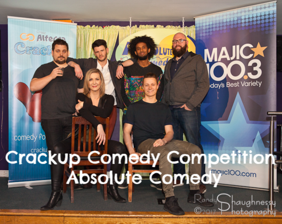 Crackup Comedy Competition - Absolute Comedy