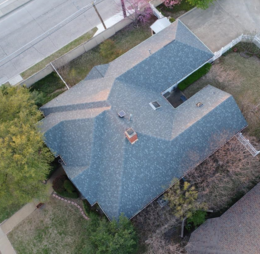 Residential asphalt roofing in Dallas