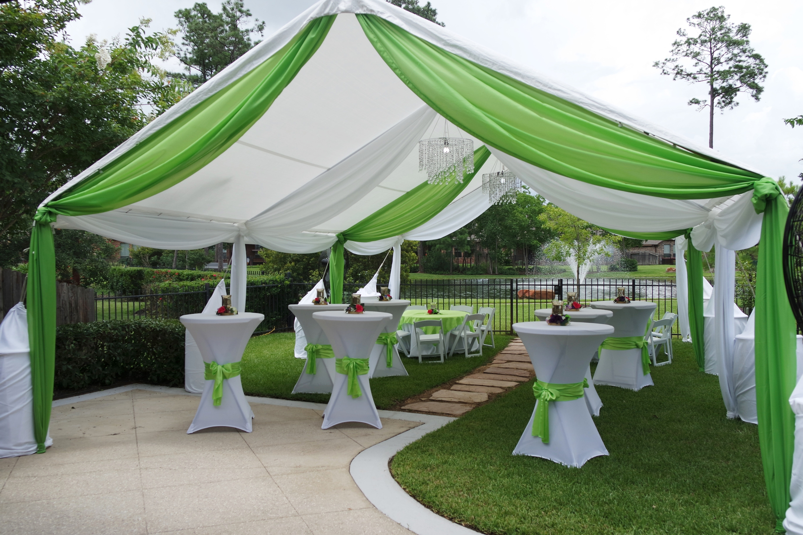 Outdoor Canopy Decorating Ideas Billingsblessingbagsorg