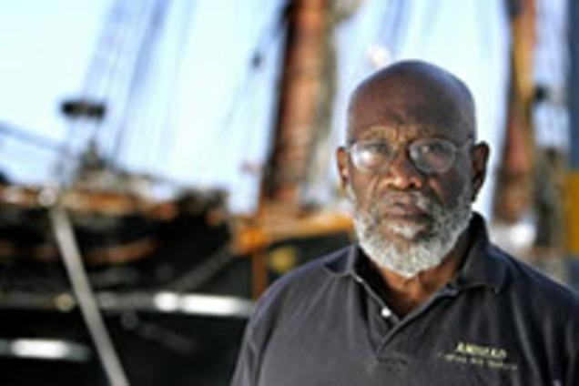 Image result for William Pinkney is first black to circumvent the world by boat Meet the first black man to travel around the world alone by boat on this day in 1990