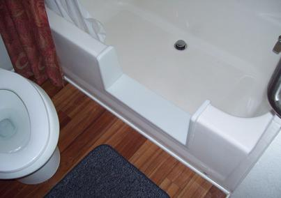 Diy Bathtub To Walk In Shower Conversion Or Cut Out Kit