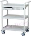 3 tier medical carts manufacturer, 3-tier drawer hospital trolley manufacturer Taiwan