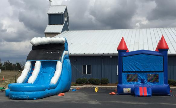 water slide rental athens tn