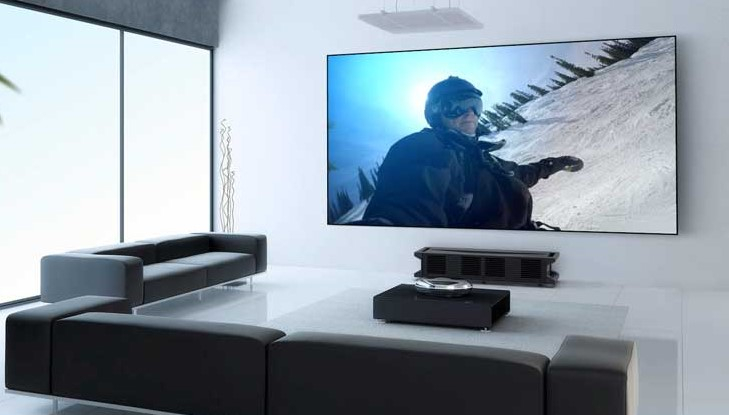 Image result for Home theater with Sonos and projector