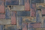 Unilock Concrete Town Hall Permeable Paver in Heritage Blend Color