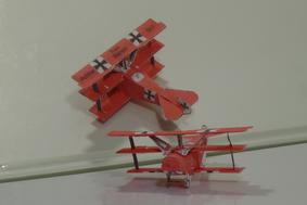 paper aricraft flyable 3d template of WWI