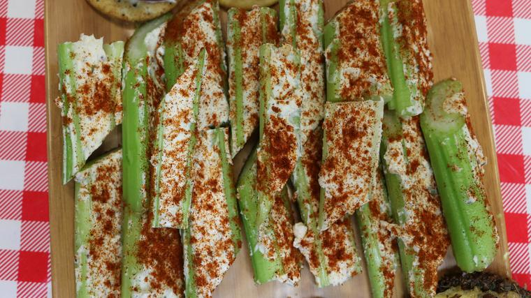 Retro Stuffed Celery Recipe, Noreen's Kitchen