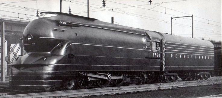 The Pennsylvania Railroad K4s 4-6-2 Pacific Locomotive