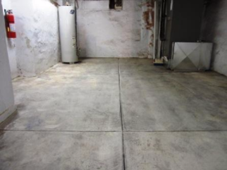 Basement Wall Cementing Wall Parging Basement Wall Finishing