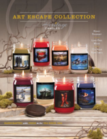 Heritage Candles Art Escape Candle Fundraiser