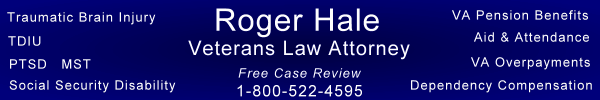 Veterans Law Attorney