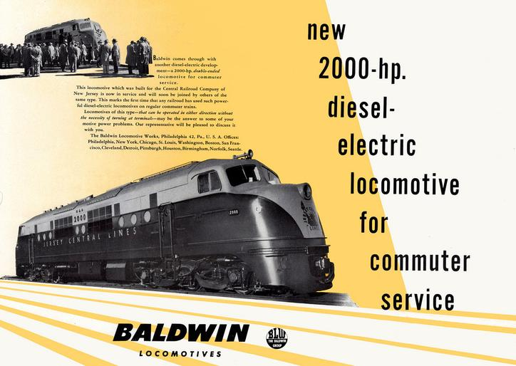 A Baldwin CNJ 2000 ad from 1946.