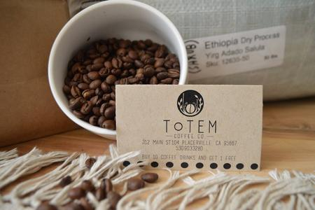 Totem is focused on small batch artisan roasted coffee