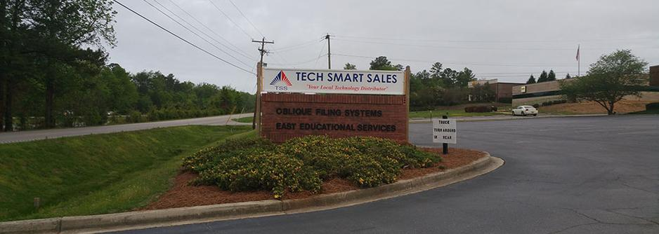 Tech Smart Sales sign