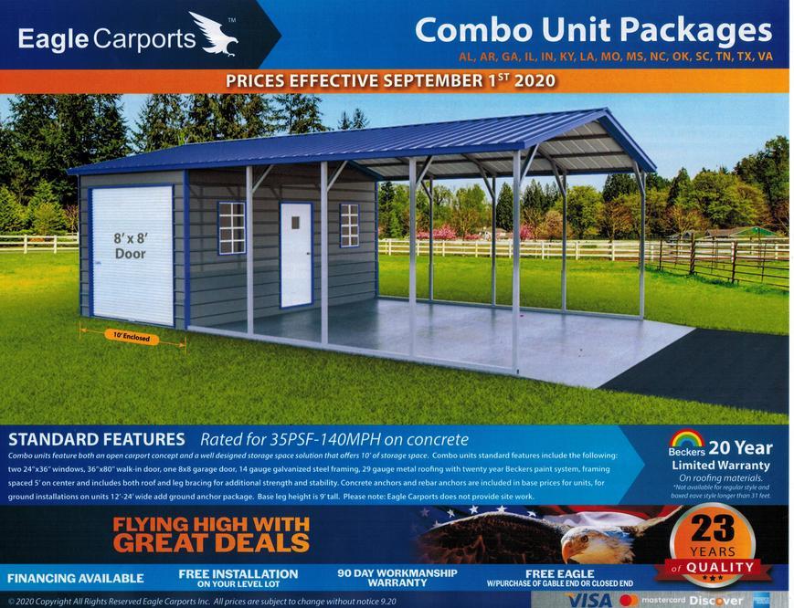 Eagle Carports With Storage